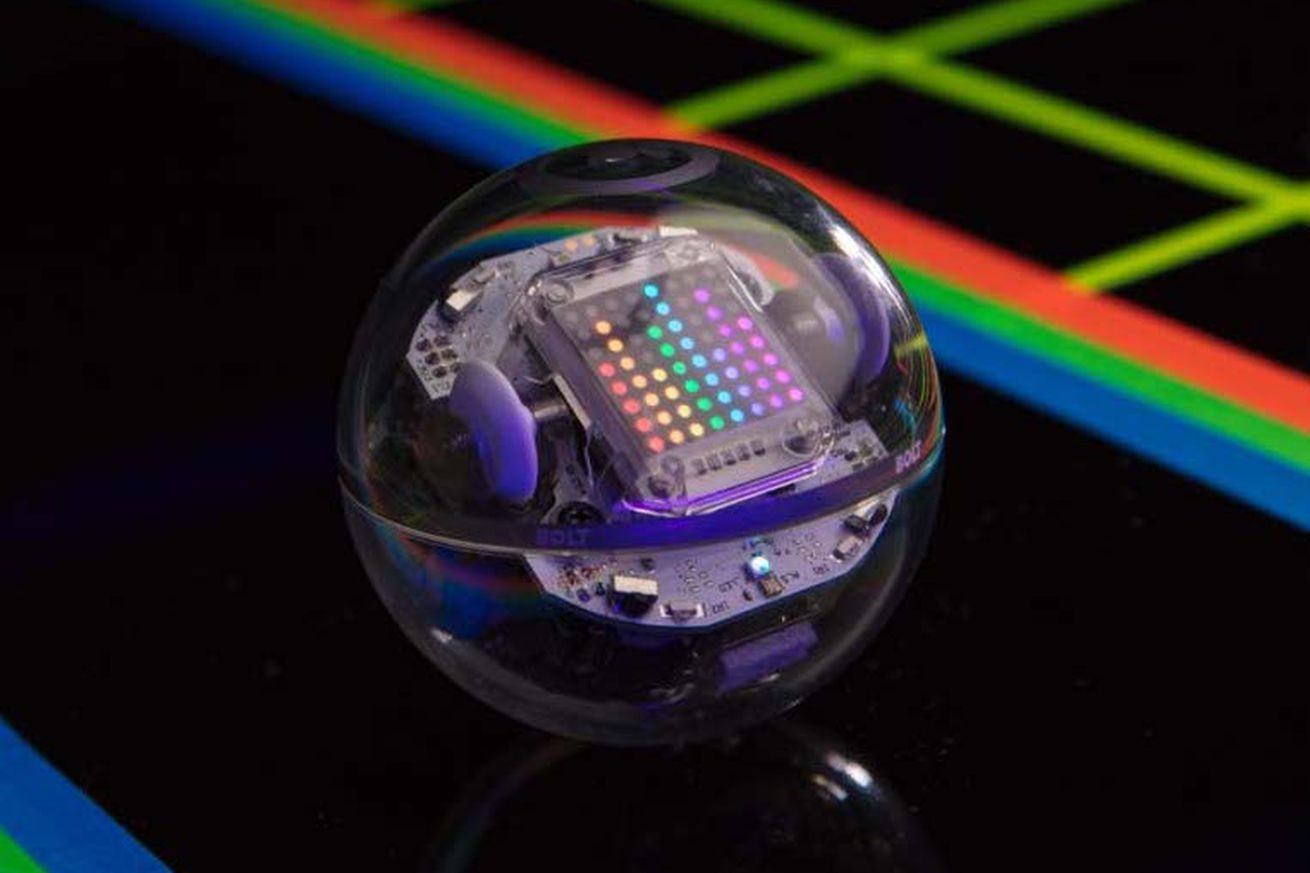 sphero s new robot has a programmable led display and infrared sensors