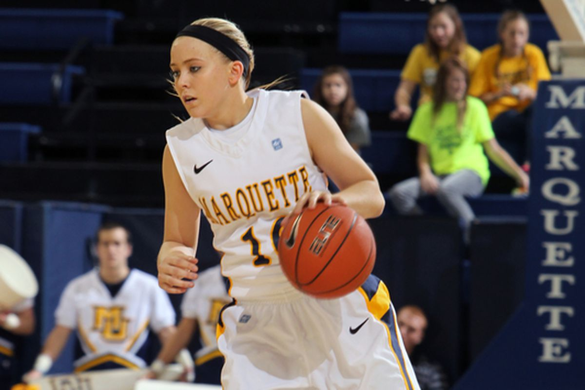 Brooklyn Pumroy's development is critical to Marquette's success this year.