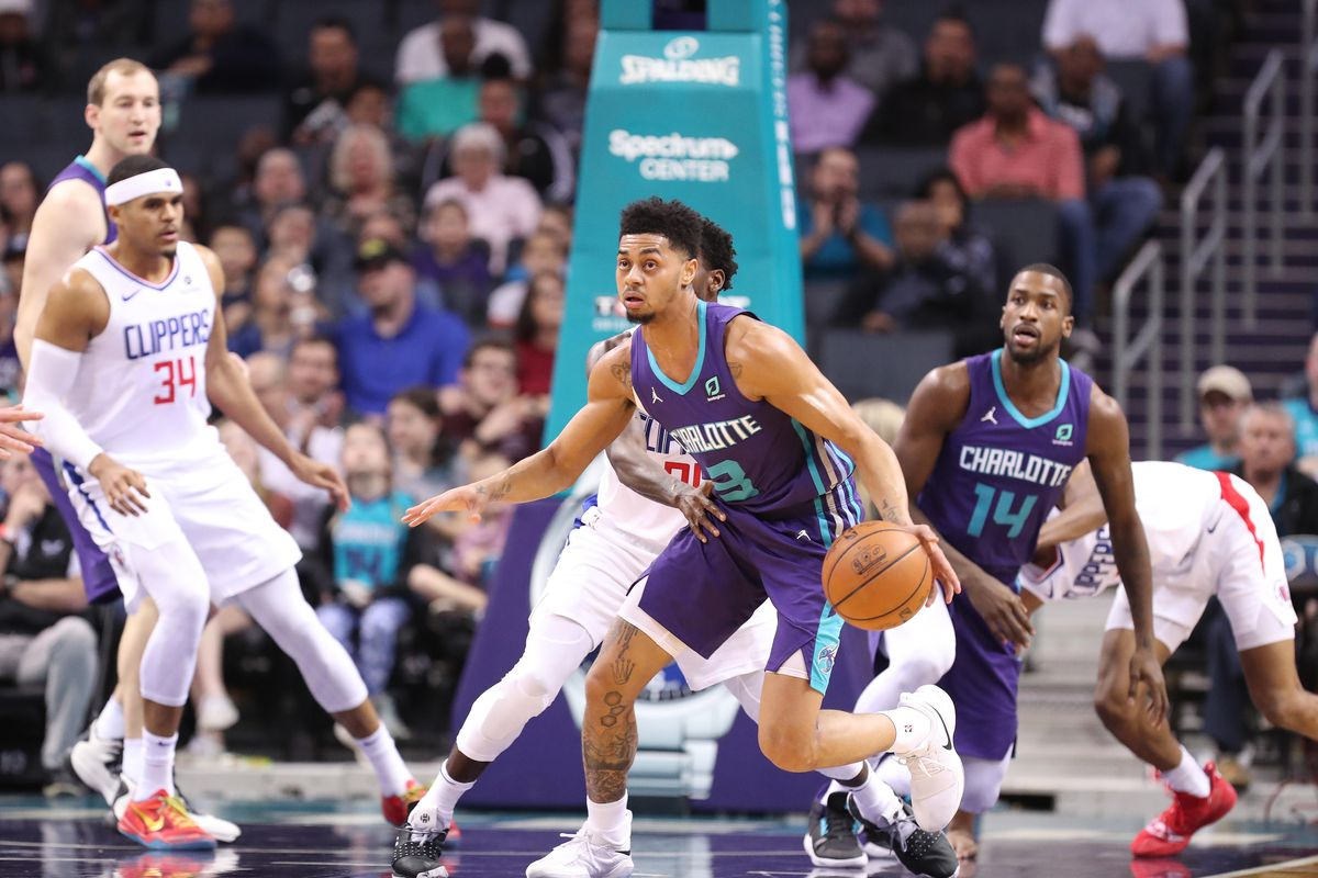 NBA: Los Angeles Clippers at Charlotte Hornets