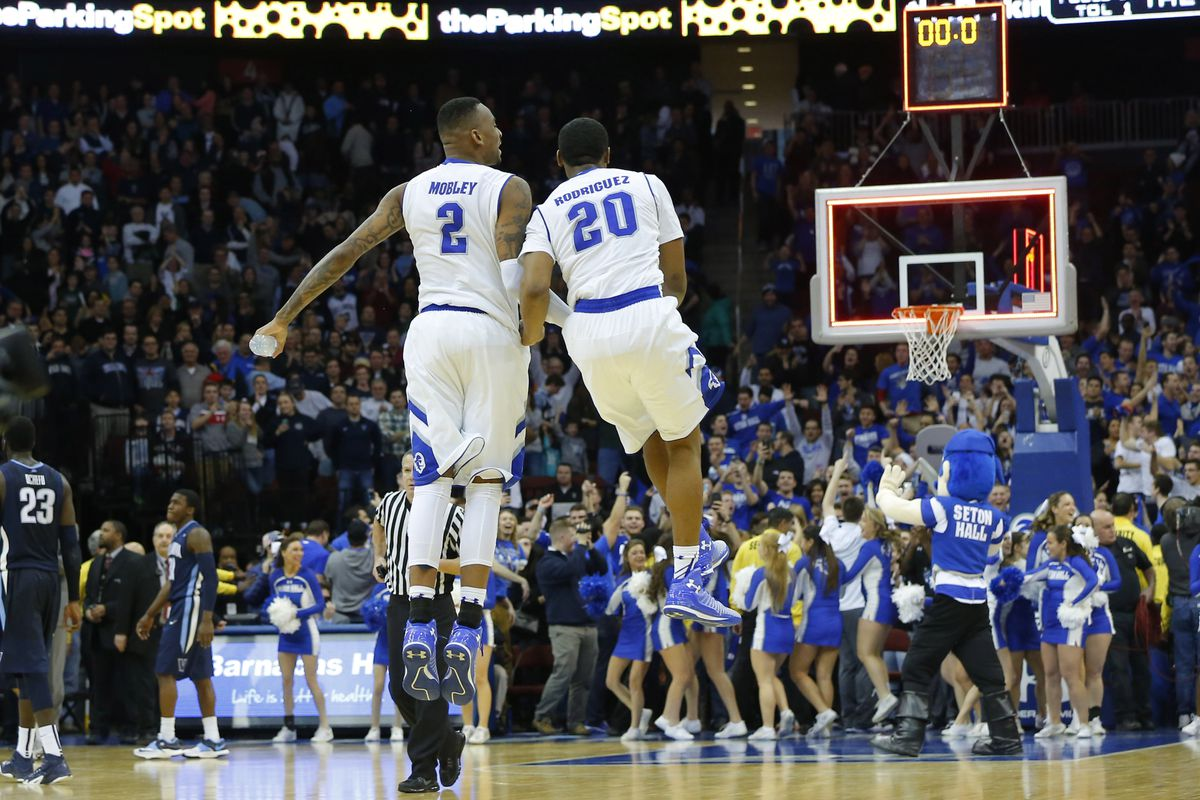 Seton Hall is flying high right now.