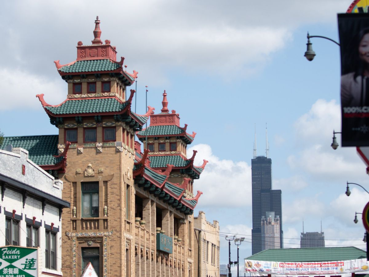 The Pui Tak Community Center building in Chinatown.   Colin Boyle/Sun-Times
