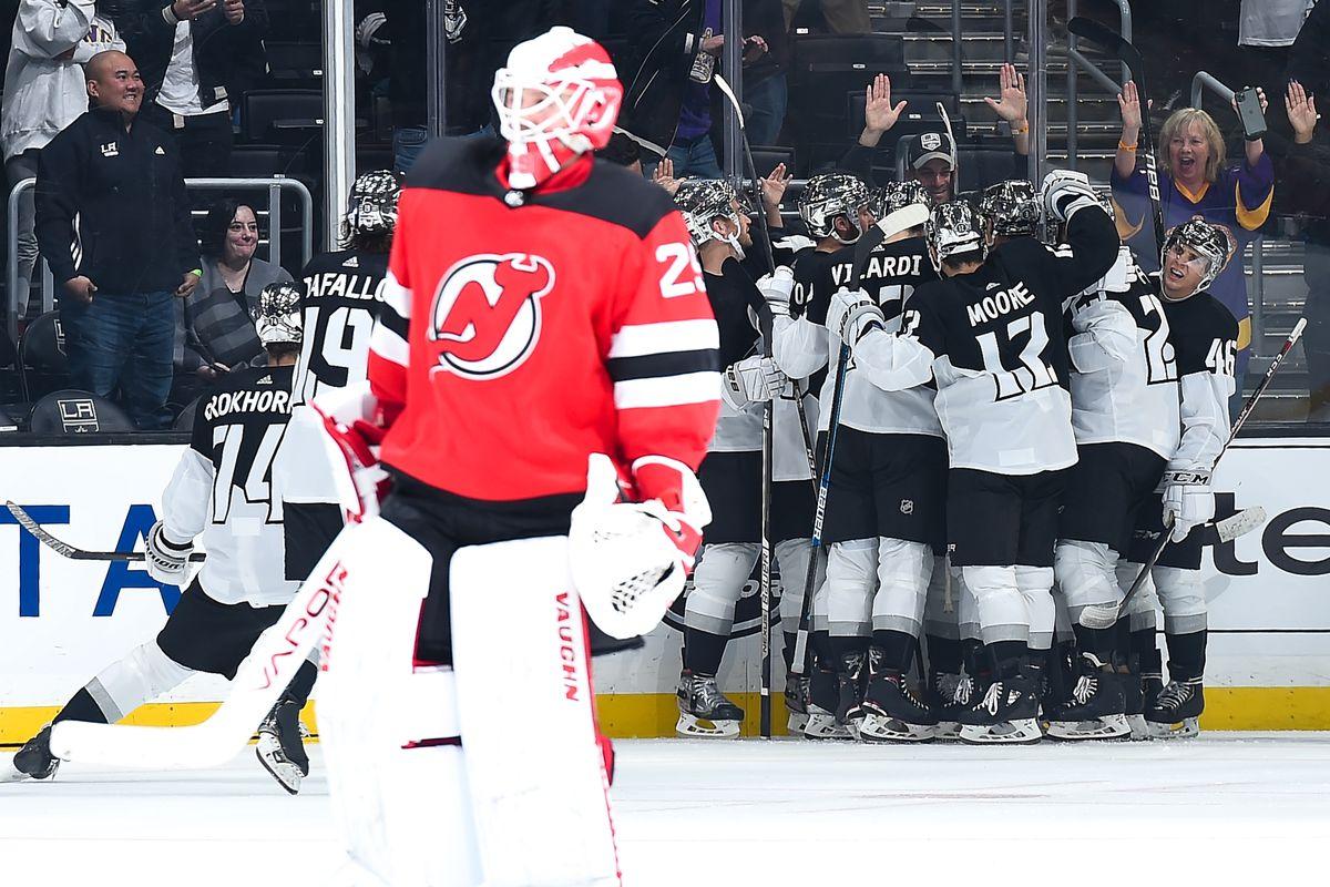 New Jersey Devils v Los Angeles Kings