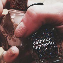 These glitter polishes from <b>Deborah Lippmann</b> are my jam.