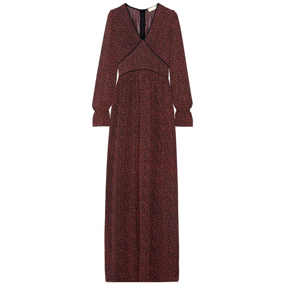 Michael Michael Kors Printed Chiffon Maxi Dress, $185
