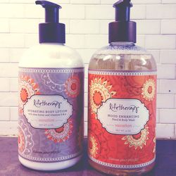 I'm thrilled to see that more and more brands are diving into the hand wash and hand lotion category. I love to find beautiful brands with a great message and story behind them. Since most people see my kitchen when they first walk into my home, I make su