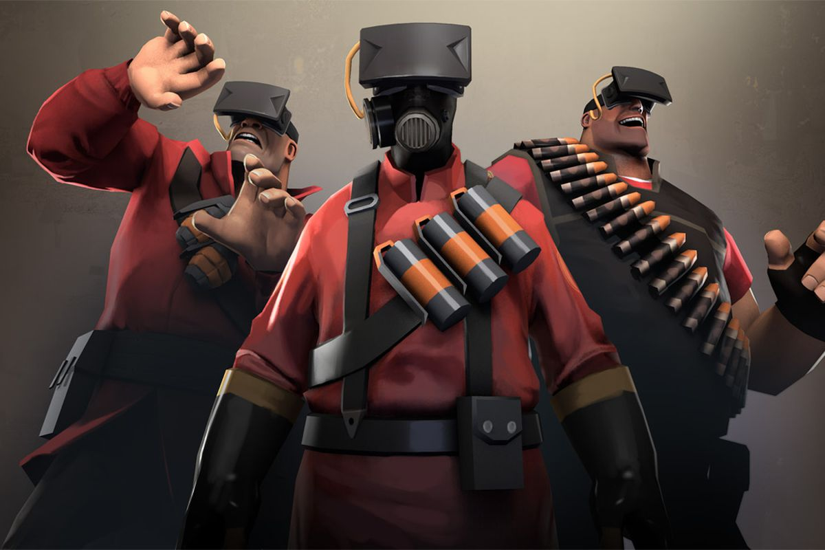 Now That Team Fortress 2 Supports The Oculus Rift You Might Be Tempted To Jump Right In With Headset Strapped Your Face But User