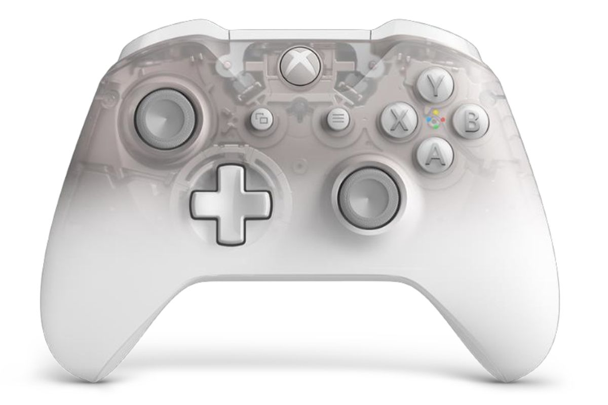 Microsoft's translucent Phantom controller now comes in white - The Verge