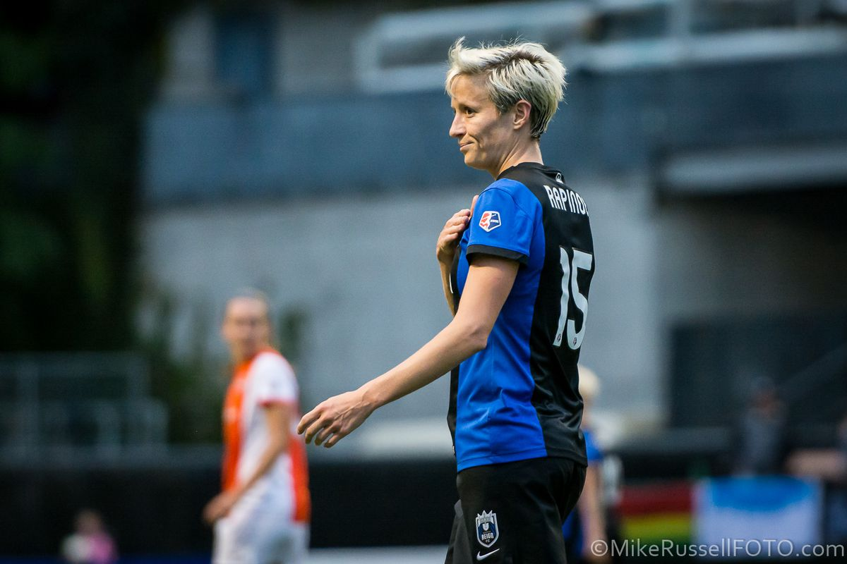 3dcfed0bb Megan Rapinoe turns attention toward youth homelessness - Sounder At ...