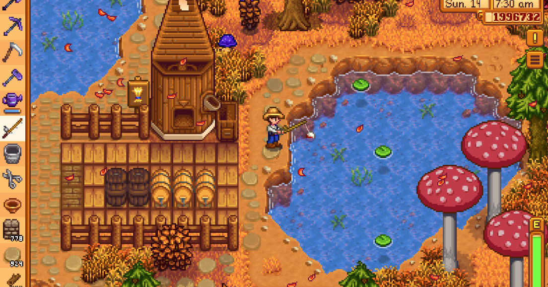 Stardew Valley's big local co-op update has come to consoles - The Verge