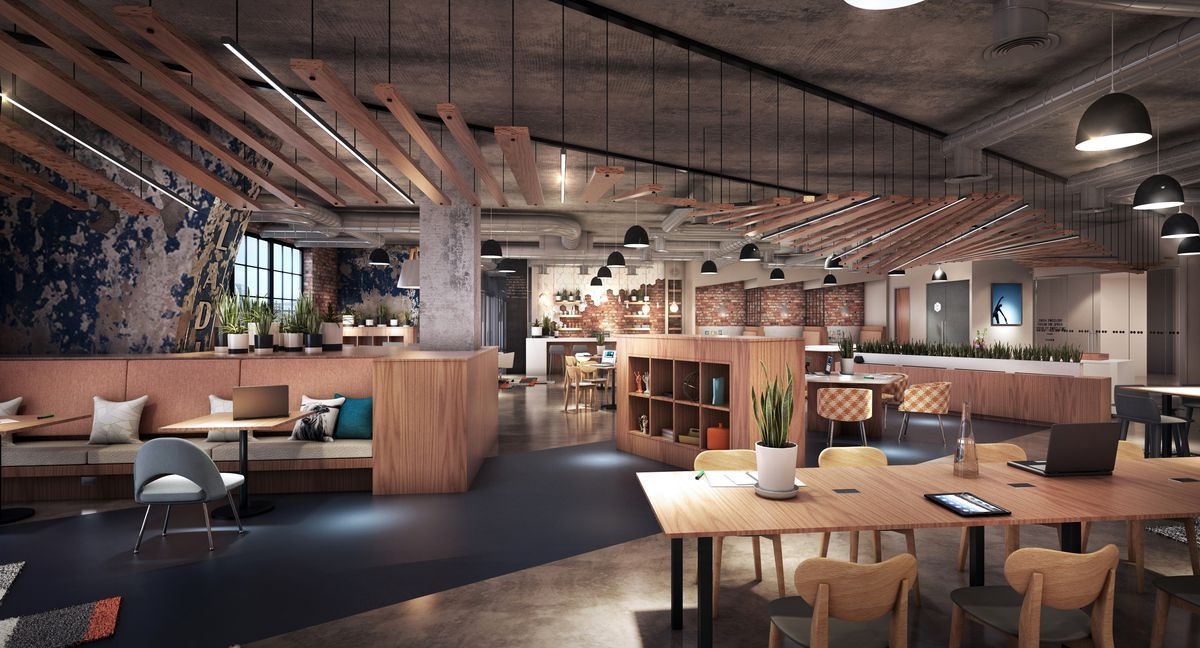 The D C Area S Most Beautiful Coworking Locations Mapped