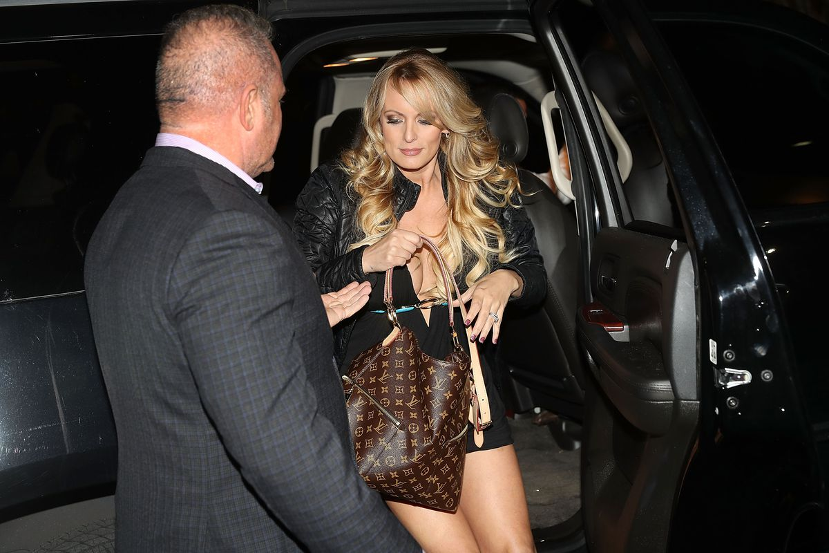 Stormy Daniels, who alleges an affair with President Trump, appears at a Florida club in March 2018