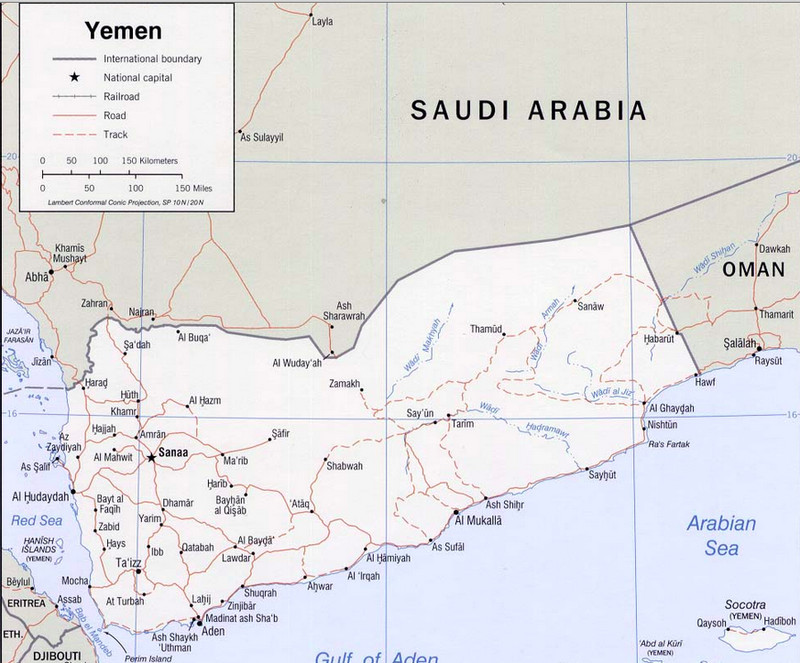 Why The Hell Is The US Helping Saudi Arabia Bomb Yemen A Brief - Map of us government