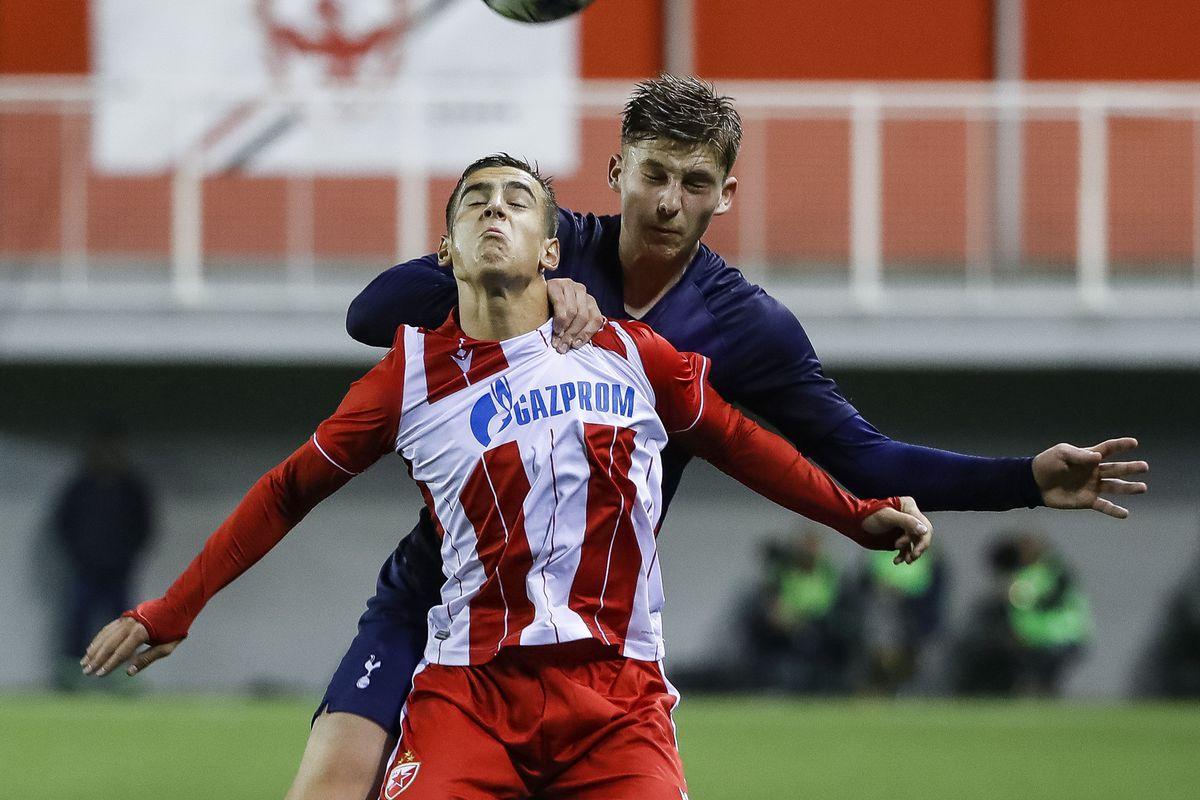 Crvena Zvezda v Tottenham Hotspur: UEFA Youth League