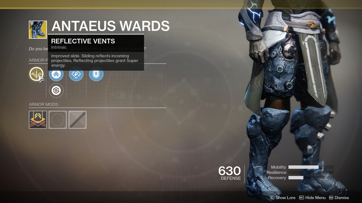 Antaeus Wards Exotic Destiny 2