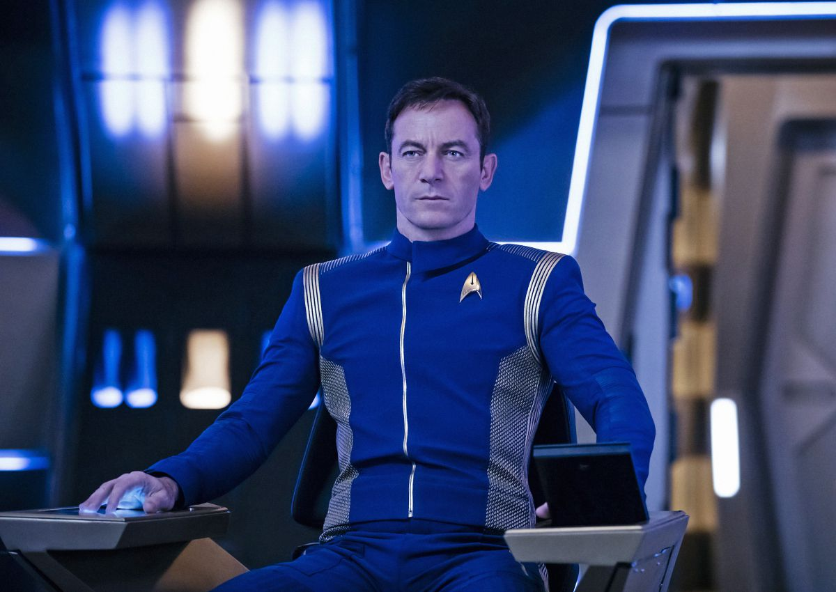 Jason Isaacs as Captain Gabriel Lorca on Star Trek: Discovery.