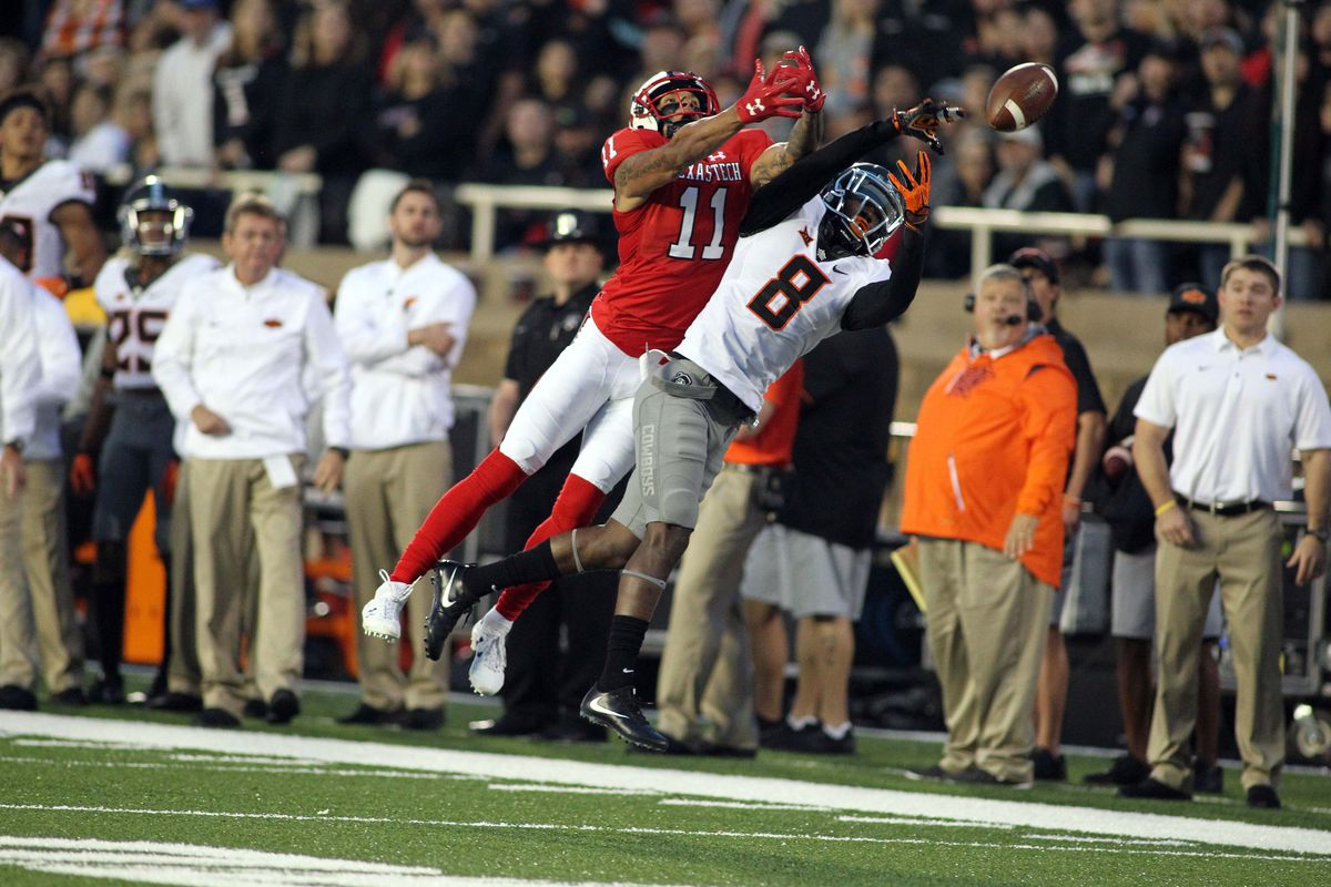 Rudolph lifts No 15 Oklahoma State over Texas Tech 41-34