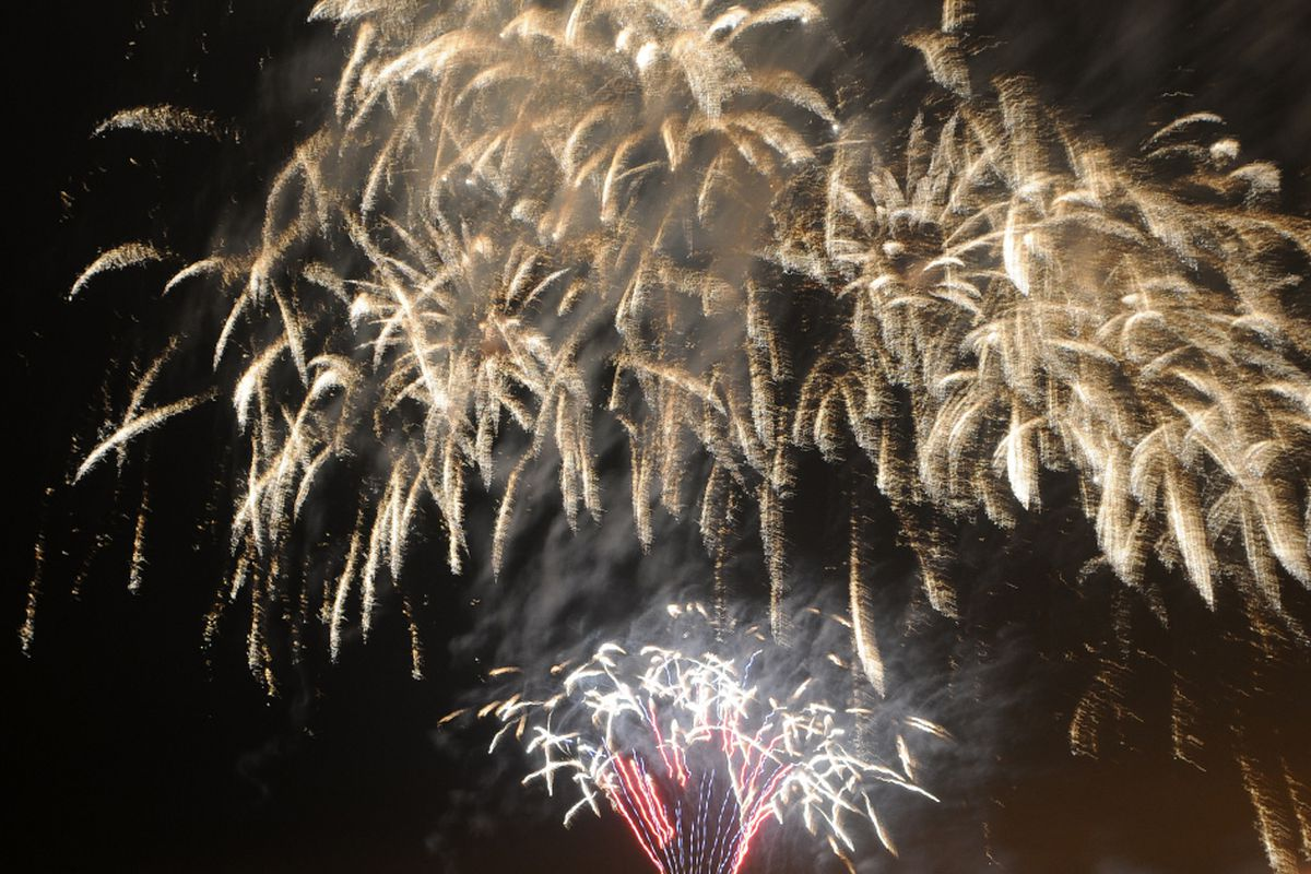 The city of Chicago will be putting on a fireworks display Saturday night that should be visible from multiple spots along the lakefront.