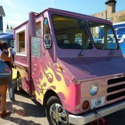 Sweet Ride serving up cupcakes, whoopie pies and banana pudding.