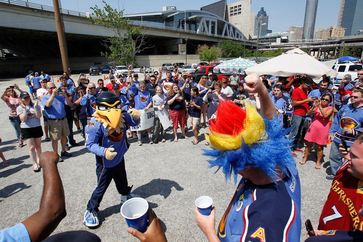 Thrashers Fans Rally To Keep Team In Atlanta