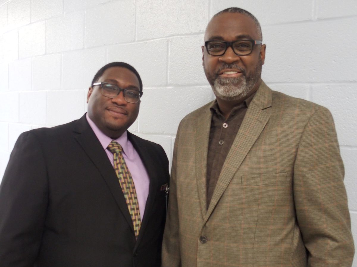 From left: Michael Spearman and Ron Davis lead Shelby County Schools' behavior specialist team.