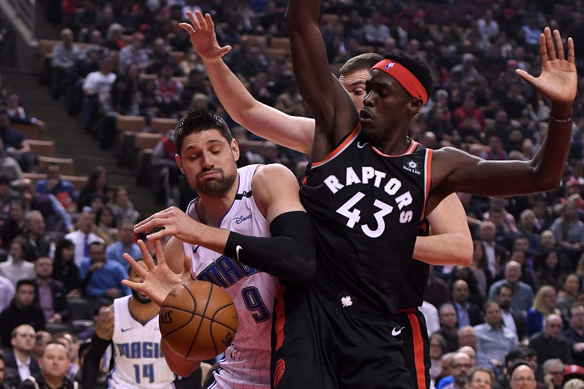 Image result for raptors vs magic usa today