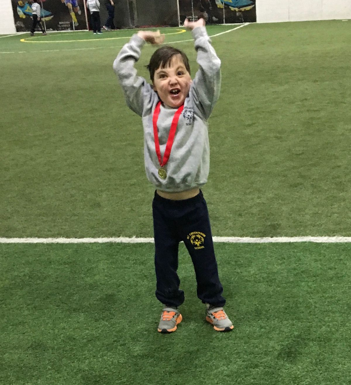 Danny Brouder said he's most looking forward to winning a medal at the 2019 Special Olympics spring games. | Provided