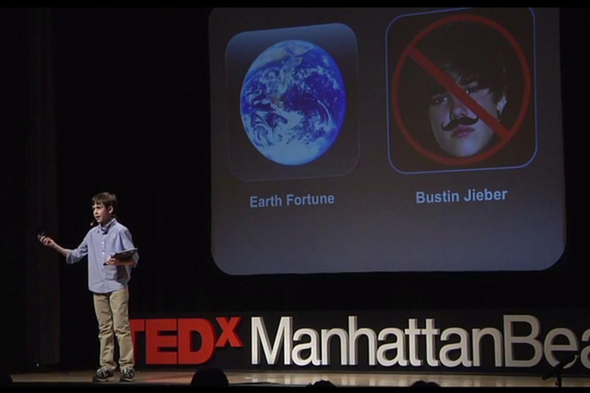 Sixth Grader Thomas Suarez, iOS Developer