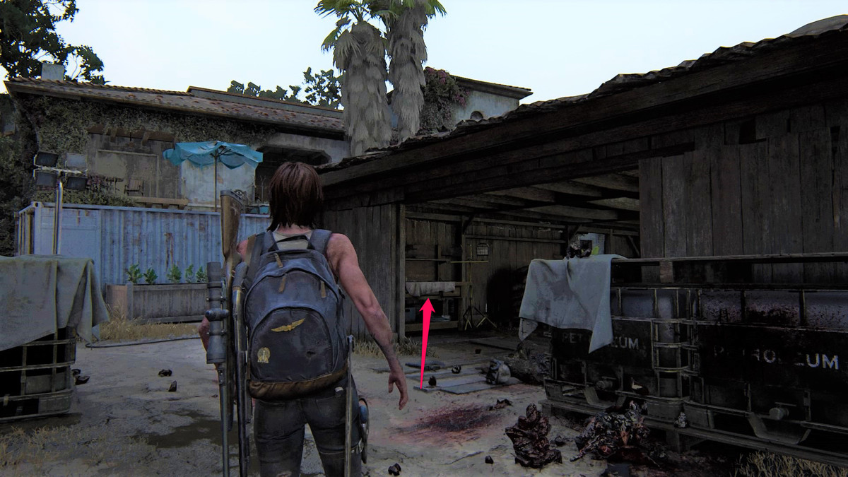 The Last of Us Part 2 Santa Barbara The Resort Workbench