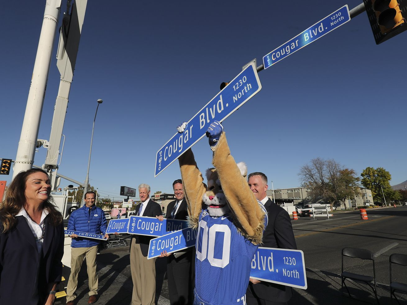 Cougar Boulevard: Provo renames road to celebrate BYU's 144th birthday
