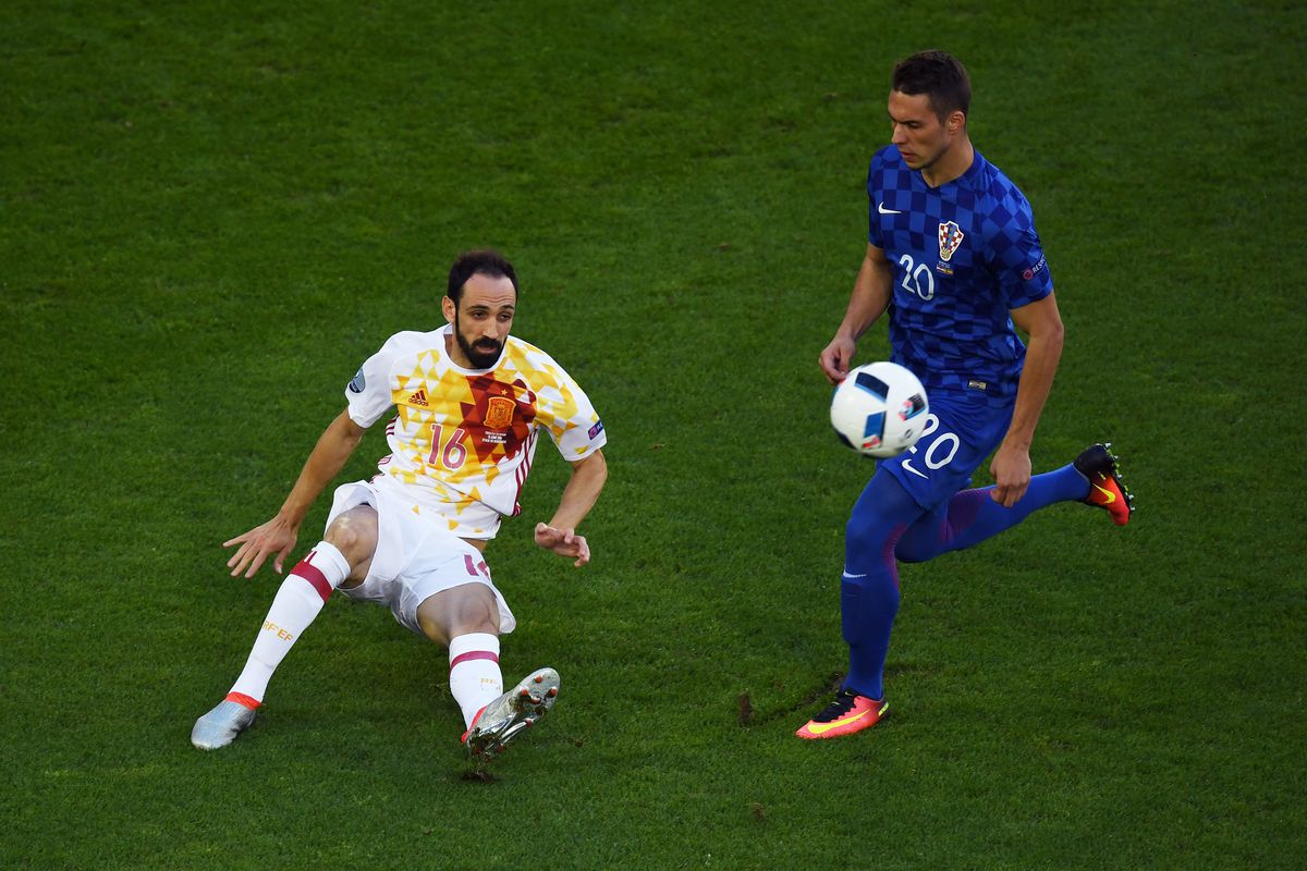 Croatia v Spain - Group D: UEFA Euro 2016-Marko Pjaca