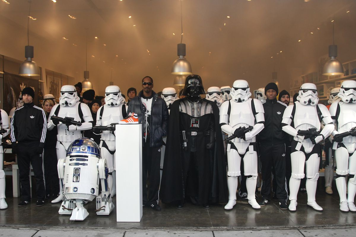 Snoop Dogg & Stormtroopers Launch  Adidas Originals X Star Wars Collection