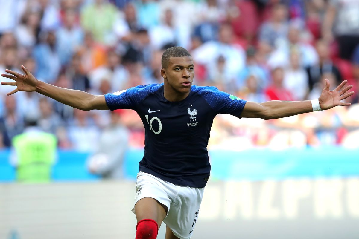 8330c0fdc7d World Cup 2018  Kylian Mbappe completely took over France vs ...