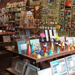 """After stocking up on designer merch, make your way over to <a href=""""http://www.mindfulnest.com"""">Mindfulnest</a> (2711 Main Street), which stocks an array of cute and quirky home decor, jewelry, stationery, art and more giftables handmade by local artists."""