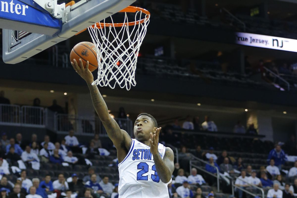 Fuquan Edwin scored a crucial 15 points in the first half for Seton Hall, but added just 5 after the break.
