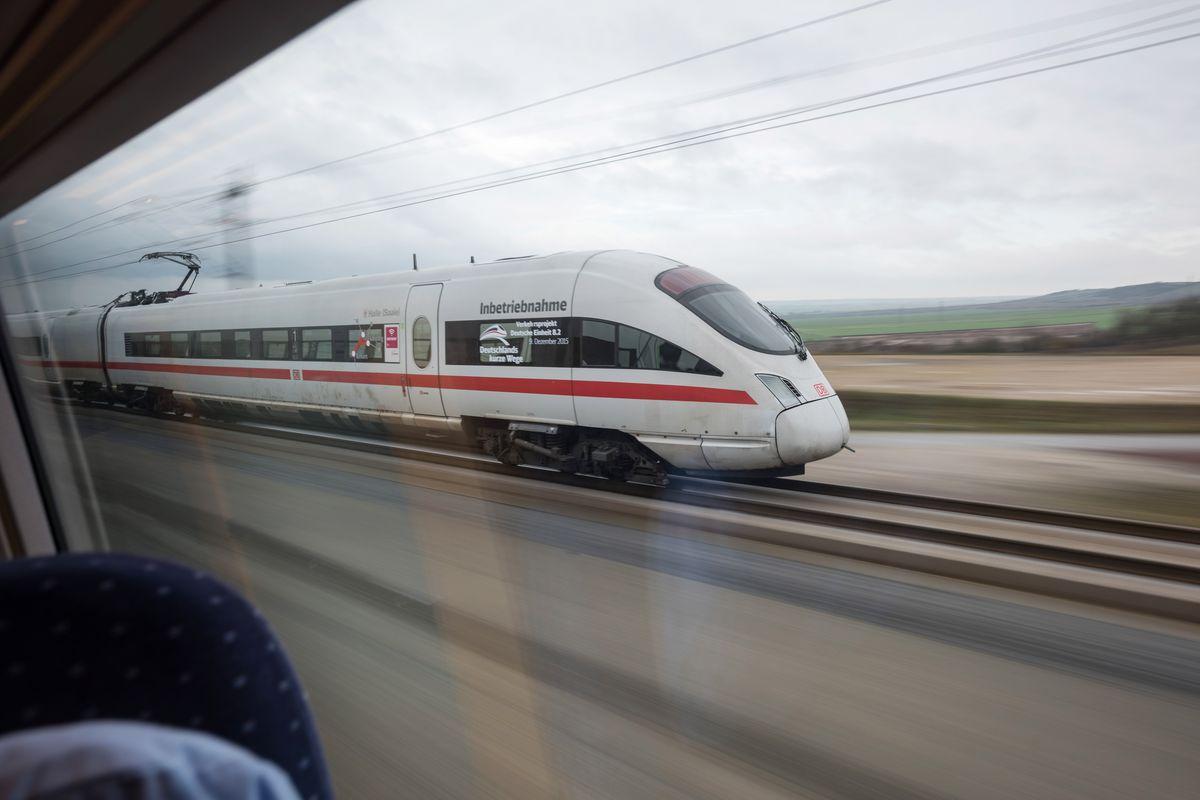 Deutsche Bahn Inaugurates New High-Speed Connection Between Halle And Leipzig