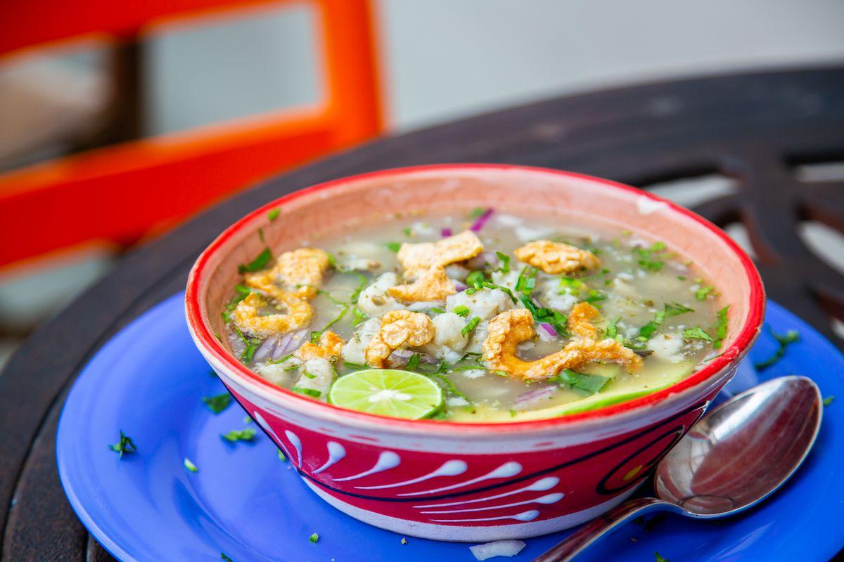 Daily soups at El Tesoro