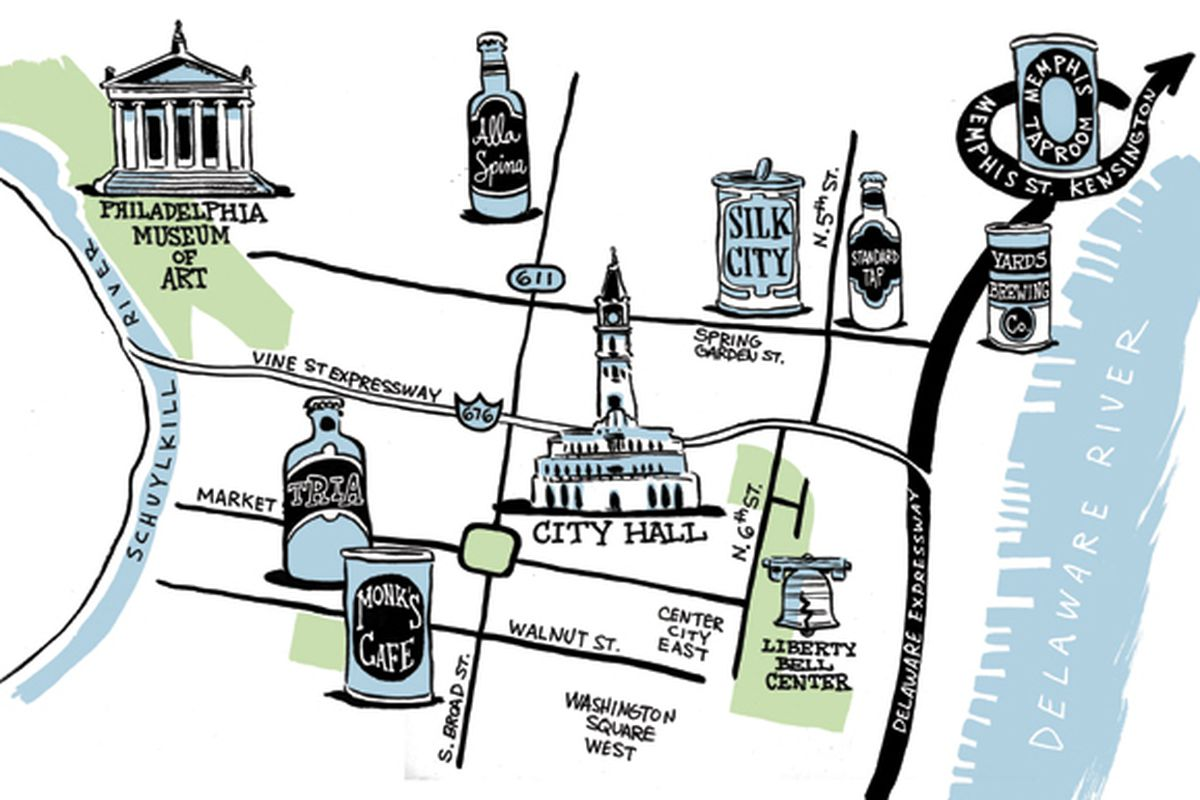 The perfect Philly pub crawl.