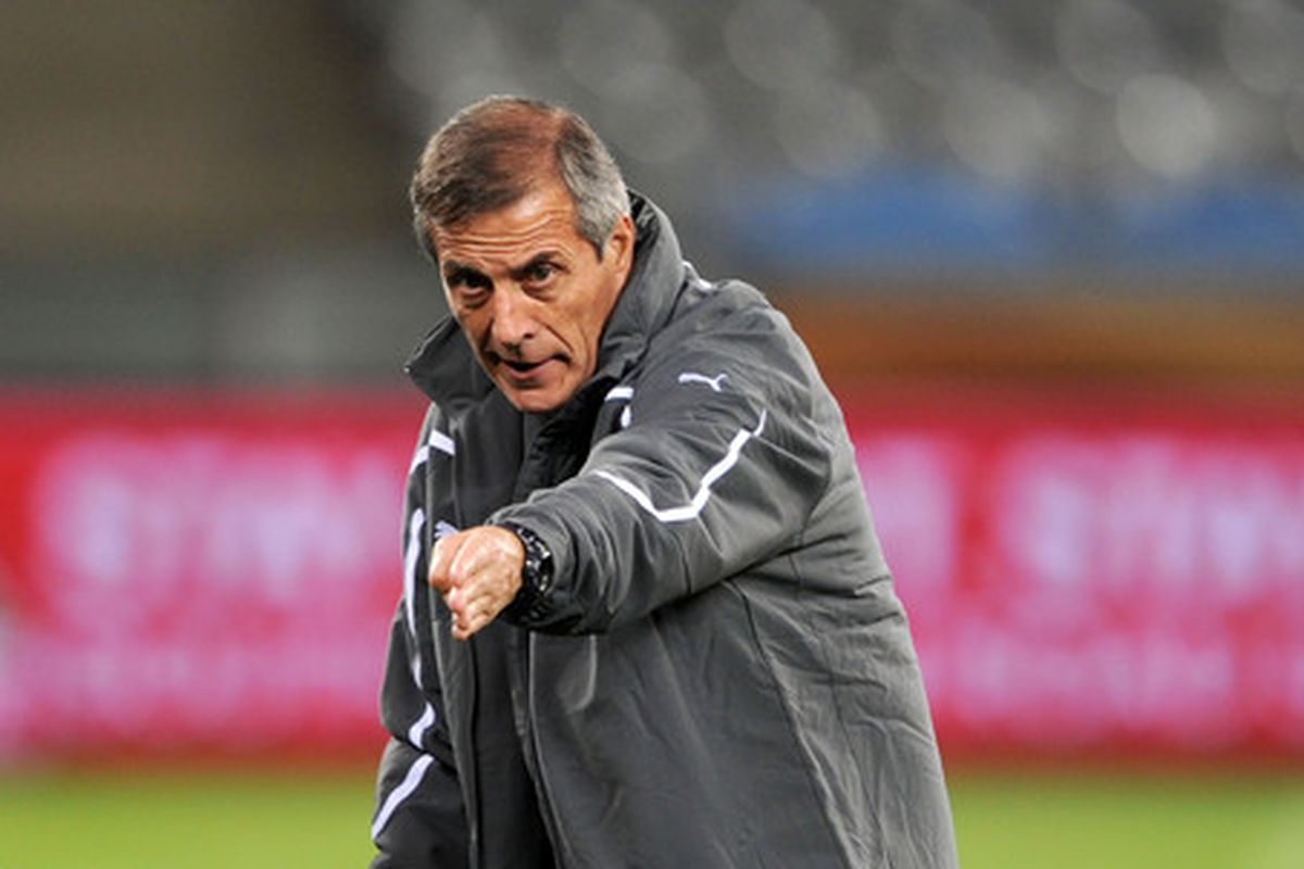 Tabarez had some nice words to say about the Blaugrana