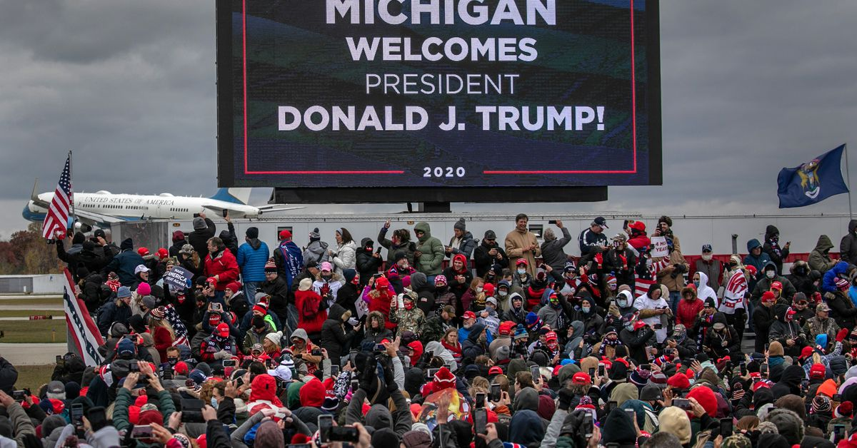 Trump rallies may be responsible for roughly 700...