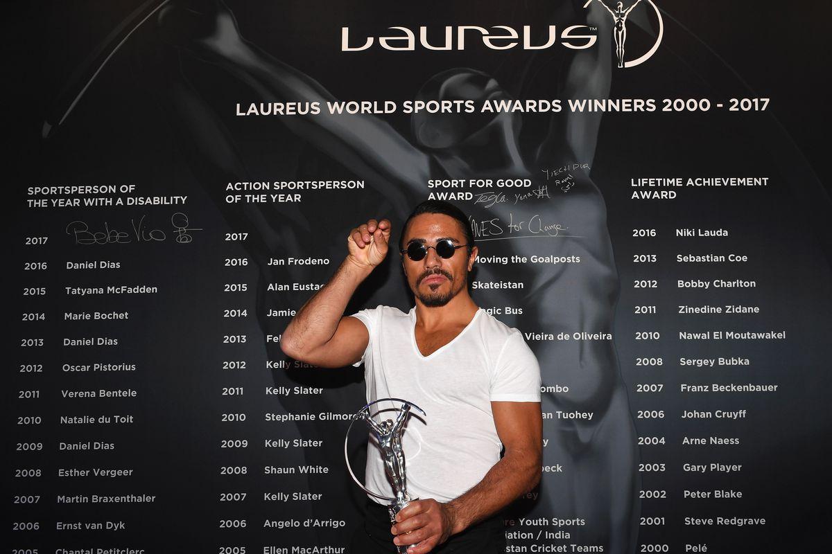 Show - 2017 Laureus World Sports Awards - Monaco