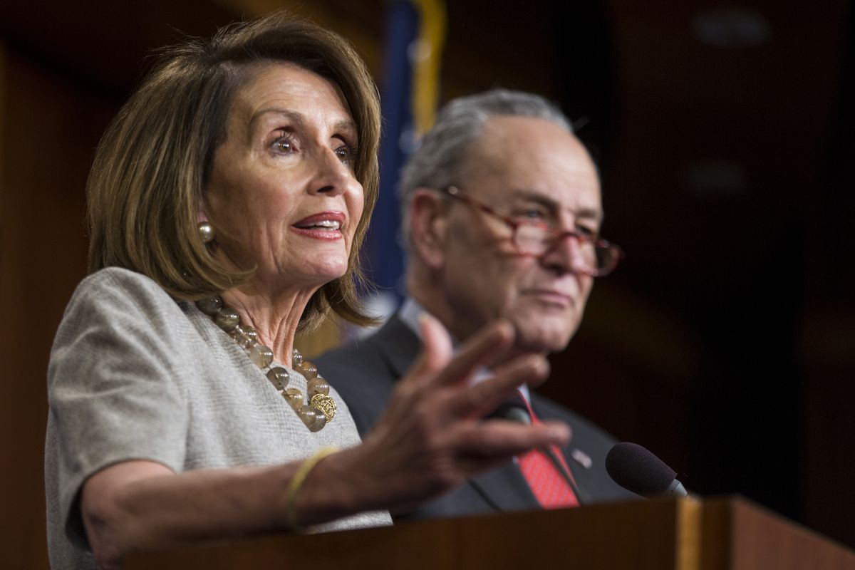 House Speaker Nancy Pelosi And Sen. Schumer Speak To Media After President Trump Announces Deal To End To Government Shutdown