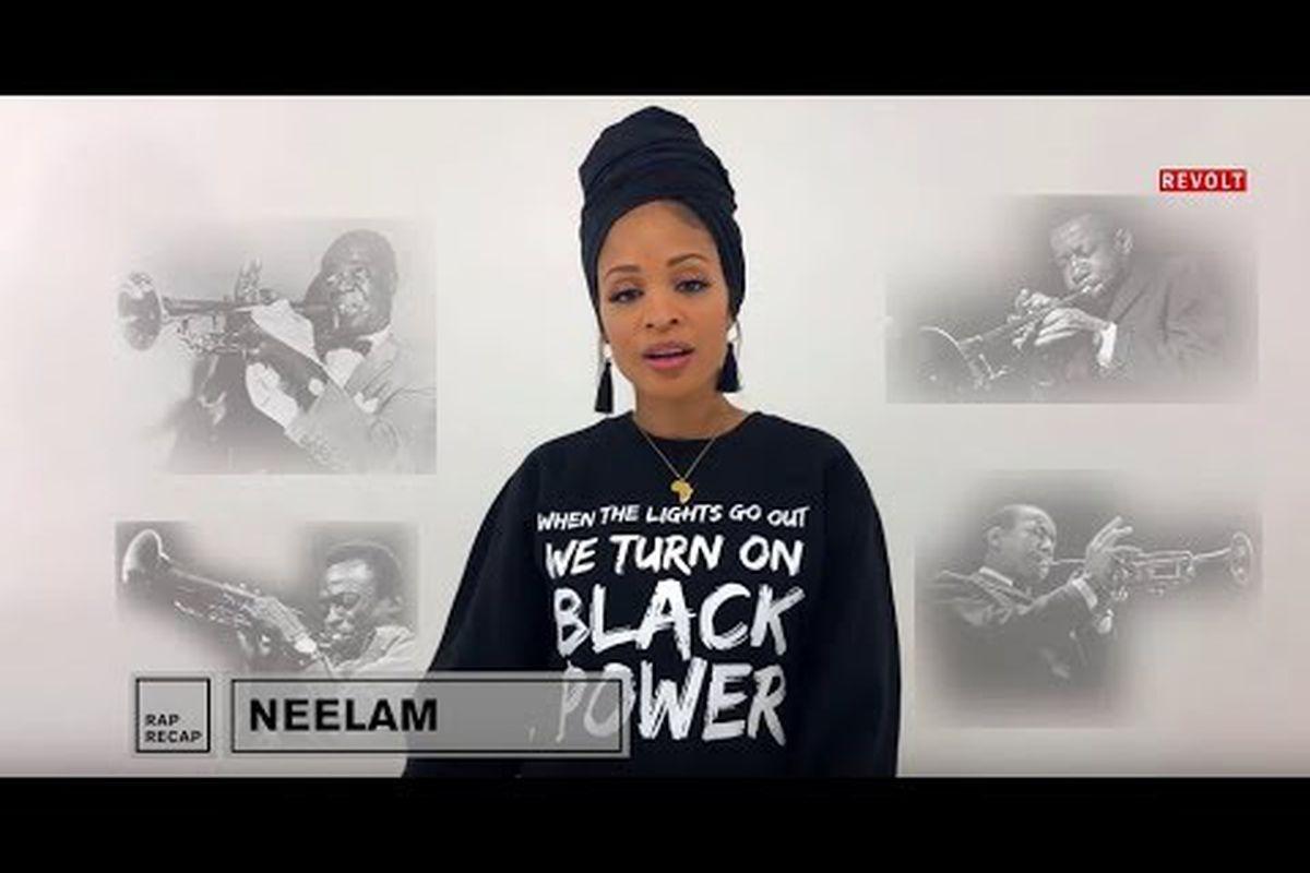 Neelam raps in honor of Black History Month