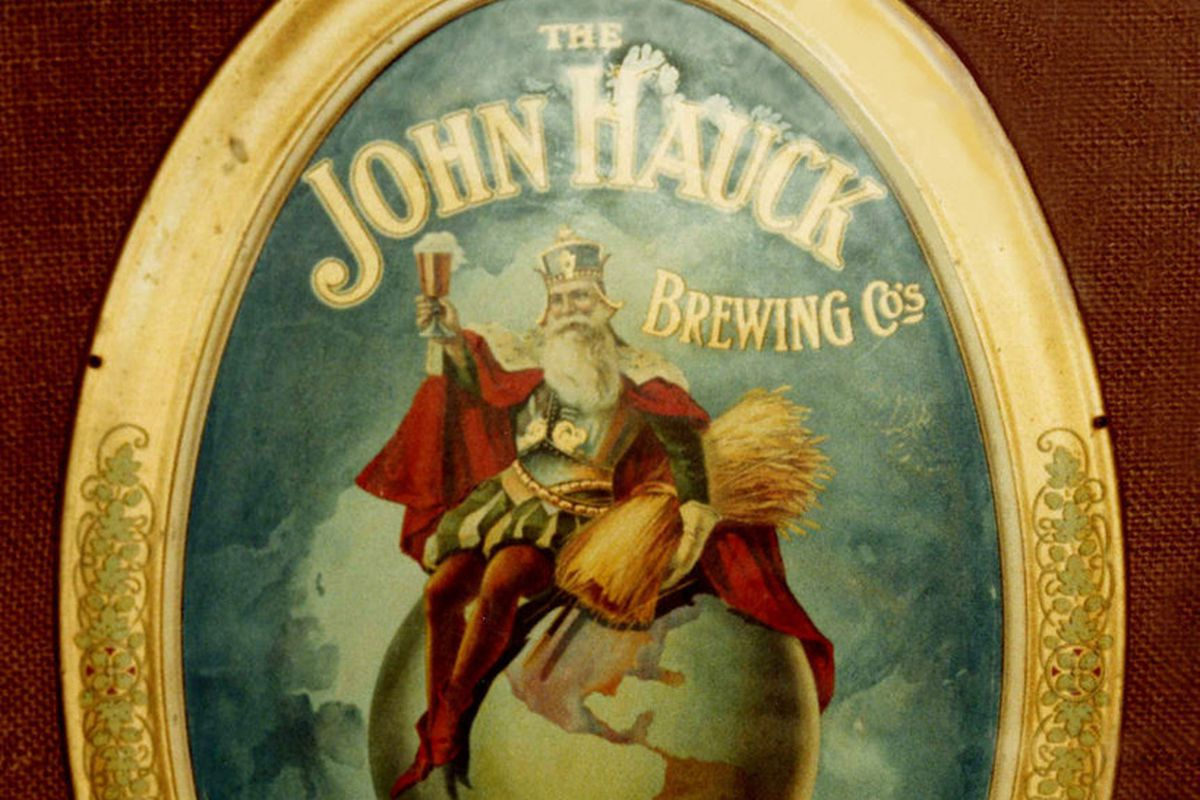 The John Hauck Brewing Co. was founded by Louis Hauck's father.