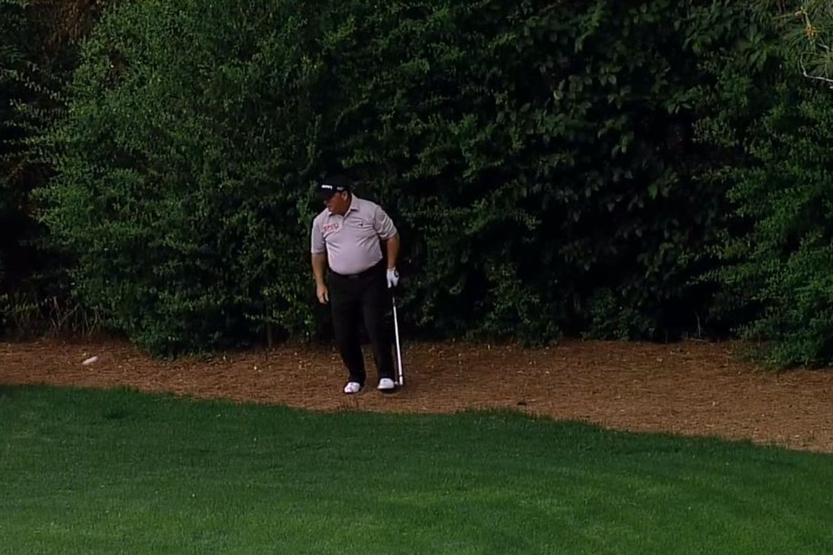 What Does Hyb Mean >> Ian Woosnam is not enjoying his trip to Amen Corner ...