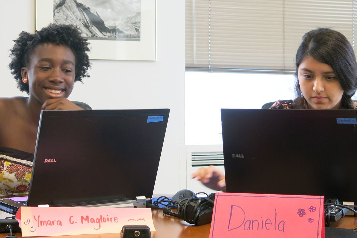 Girls Who Code is one of the summer programs introducing coding to New York City high schoolers, often for the first time.