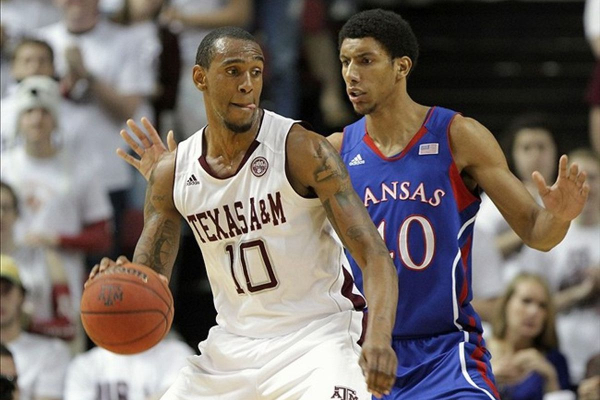 Kansas and Texas A&M will no longer be conference rivals after this season, but the pair may meet in the 2012 CBE Classic in Kansas City. Mandatory Credit: Troy Taormina-US PRESSWIRE