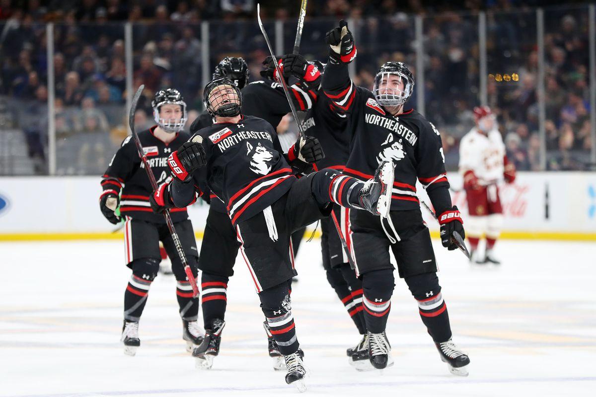 Boston College Men S Hockey Falls 4 2 In The Beanpot Championship