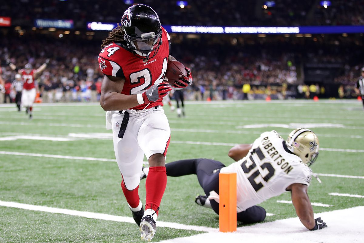 The Falcons are leaning heavily on Devonta Freeman and Tevin