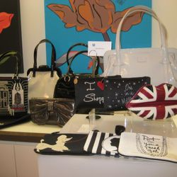 Lulu Guinness samples from her upcoming HSN collection