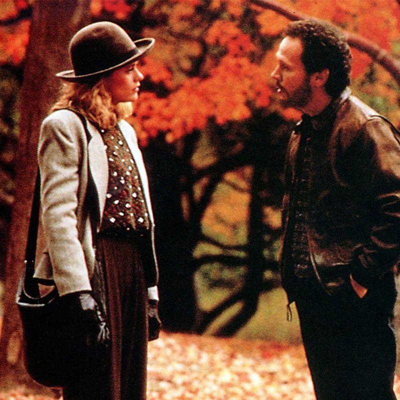 Meg Ryan and Billy Crystal in When Harry Met Sally